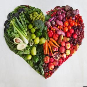 לב ירקות ופירות